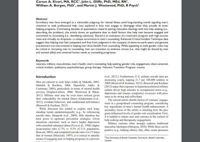 American Journal of Men's Health